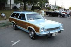 1973 Ford Pinto Squire Wagon