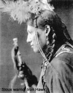 Hunkpapa Sioux warrior Iron Hawk