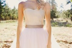 The flattering neckline: sweetheart wedding dress