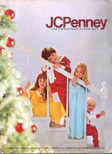JCPenney Christmas Catalog Wish Book Cover1971
