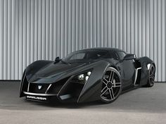 Marussia B2 - First Russian Supercars