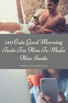 140 Cute Good Morning Texts For Him To Make Him Smile Good morning, you sexy thing! Hope you have a stress-free day at work! Cute Good Morning Texts, Good Morning For Him, Good Morning Handsome, Good Morning Sunshine, Good Morning Couple, Good Day Messages, Romantic Love Messages, Messages For Him, Sweet Text Messages