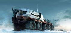 Artic Explorer by Rob Watkins   Transport   3D   CGSociety
