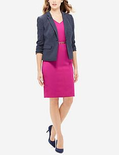 Wear-To-Work Dresses | Suit Dress, Work Dresses, Sheath Dress | THE LIMITED