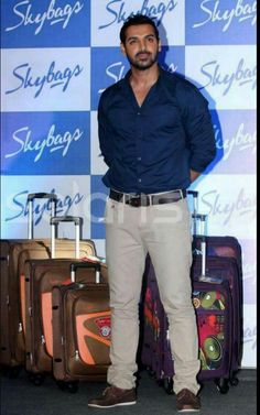 Bollywood Photos, Bollywood Actors, Bollywood Fashion, Abs Boys, John Abraham, Randy Orton, Awesome Beards, Real Hero, Men Looks