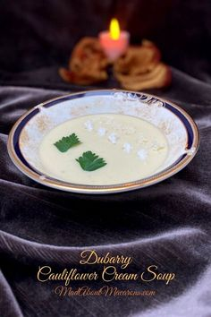 Dubarry Cauliflower Cream Soup A French classic with a royal love story behind it Easy Salads, Easy Meals, Egg Yolk Recipes, Cream Soup Recipes, Delicious Destinations, Traditional French Recipes, French Soup, Creamy Cauliflower Soup, French Classic