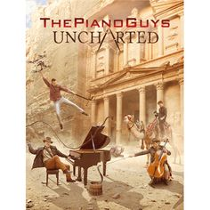 PRE-ORDER UNCHARTED Sheet Music(Piano/Cello) - The Piano Guys