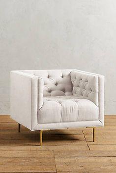Belgian Linen Mina Chair