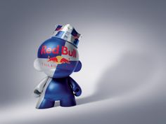 Custom d'un #Dunny Red Bull ! #ArtToy #DesignerToy