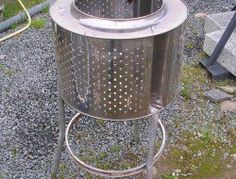 Homemade Stoves and Heaters SS incinerator
