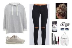 """""""Untitled #125"""" by ladybieber94 ❤ liked on Polyvore featuring adidas Originals, Chanel, NYX, Rebecca Minkoff and Marc Jacobs"""