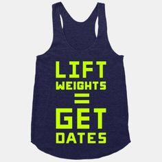 Lift Weights Get Dates #lifting #weights #workout #gym #fitness #funny #dating #cute #swole