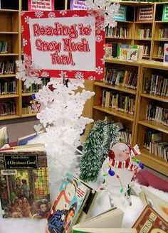 Reading is Snow Much Fun by Enokson, via Flickr
