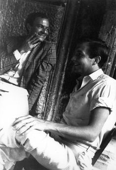 Cy Twombly and Rauschenberg, 1961 | Robert Rauschenberg Foundation