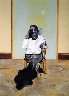 Francis Bacon.  See The Virtual Artist gallery: www.theartistobjective.com/gallery/index.html