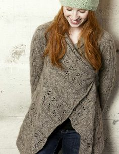 Ravelry: Wayside Lace Cardigan pattern by Schoppel-Wolle Design Team.