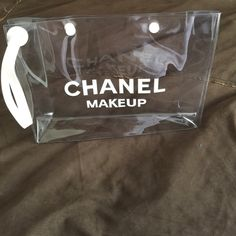 Makeup Plastic Bag Practice transparent plastic bag for makeup. CHANEL Bags Cosmetic Bags & Cases