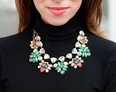 Love this Stella & Dot duo of neckless! On top is the Somervell and the bottom is the Elodie. Looks great now with a black turtleneck and the colors are perfect for Spring! stelladot.com/ChantalleMillman