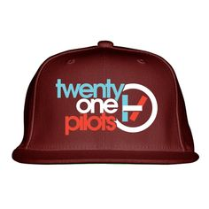 Twenty One Pilots Embroidered Snapback Hat Snapback Hats 6a48a77c1e64
