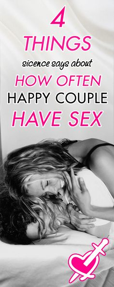 [ad] 4 Things Science Says about How Often Happy Couple Make Love