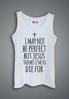 Womens Tank Top. Jesus Shirt. Ladies Tank Sleeveless. by Bes10