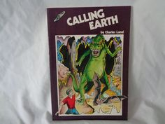 vintage 1978 Calling Earth book by Charles Land by TheVintageKeepers on Etsy