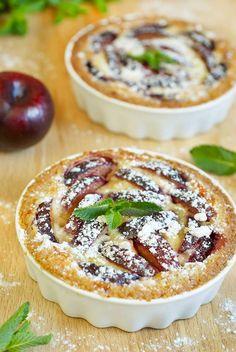 Tartelettes express aux prunes