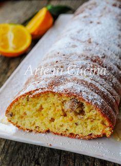 Financier all'arancia e nocciole dolce veloce vickyart arte in cucina