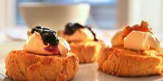 Scones med blåbær - Dette er Clotildes oppskrift på scones - ikke hopp over denne...