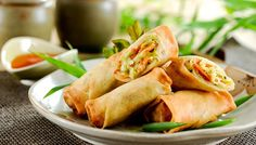 Veg. Spring Roll  | The Chocolate Heaven | Pune