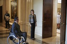 Queen Letizia of Spain attends a meeting with Royal Board on Disability Council at the Zarzuela Palace on October 5, 2015 in Madrid, Spain.