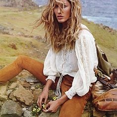 Bohemian style - I LOVE this top!!