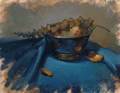 gold wrapped in teal by David-McCamant.deviantart.com on @deviantART