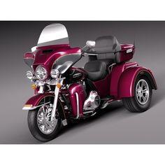Harley-Davidson TriGlide 2015 - 3D Model