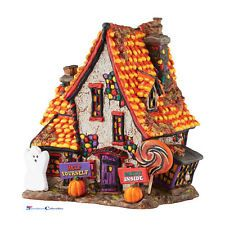 Dept 56 Halloween Village 4051012 Sweet Trapping Cottage New 2016