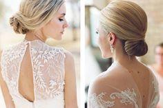 Peinado de novia en chongo bajo #bodas #elblogdemaríajosé #peinadonovia #chongonovia #chongobajo