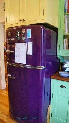 . . Wow purple refrigerator