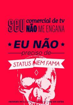 Artista espalha posters com letras de rap provocativas pela cidade de São Paulo