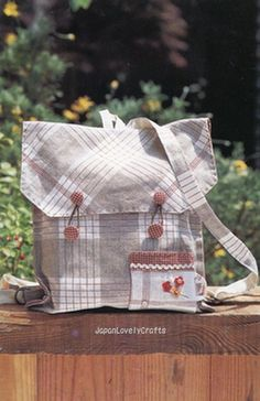 Lovely Handmade Bags 75  Cotton Time