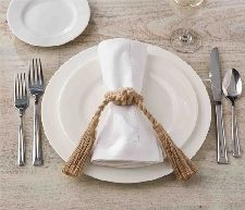 Knot Rope Napkin Rings