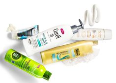 Best Body: Avène Mineral Light Hydrating Sunscreen Lotion SPF 50+, $36; Suave Professionals Sea Mineral Infusion Purifying Body Wash, $2.99; Curél Rough Skin Rescue Smoothing Lotion, $7.99; Skinfix Hand Repair Cream, $17.99; Alba Botanica Very Emollient Fragrance Free Clear Spray Sunscreen SPF 50, $15.99