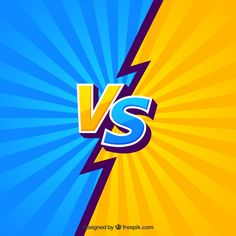 Colorful fight background with lightning bolt Free Vector Dark Background Wallpaper, Pop Art Background, Background Images, Vector Background, Thumbnail Background, Superhero Letters, 2048x1152 Wallpapers, Thumbnail Youtube, Youtube Banner Design
