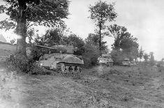 Shermans, Normandy Bocage