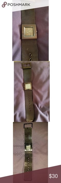 DKNY watch used a few times very light signs of wear. new battery. do not have box DKNY Accessories Watches