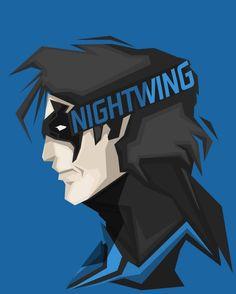 Nightwing by Bosslogic.