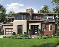 Dynamic 4 Bed House Plan - 23571JD | Contemporary, Modern, Northwest, 2nd Floor Master Suite, Bonus Room, Butler Walk-in Pantry, CAD Available, Den-Office-Library-Study, PDF | Architectural Designs