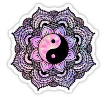 Yin Yang Mandala Sticker