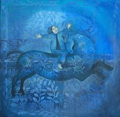 blue horse :: Cate Edwards