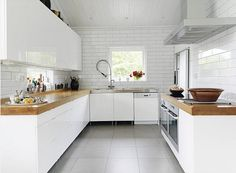 simple kitchen via door sixteen