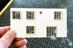 Architectural Models one wall at a time